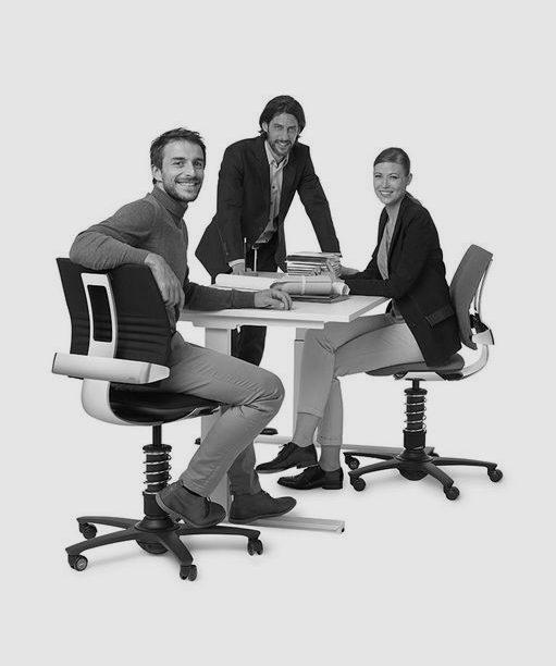 Dynamische bureaustoelen