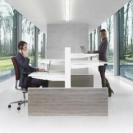 Zit sta bureaus dynamisch werken for Bureau zit sta