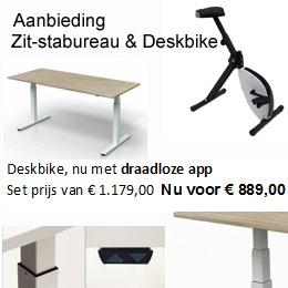 Deskbike & Zitsta bureau