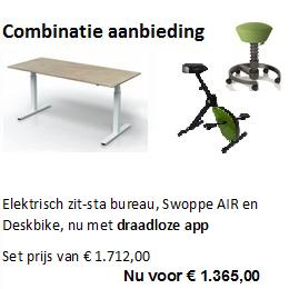 Combinatieaanbieding deskbike
