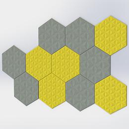 BuzziTile 3D Hexa