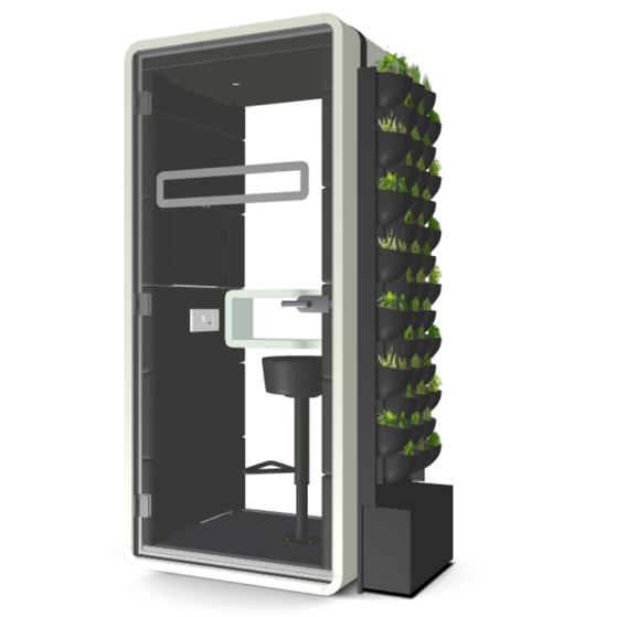 Hush Phone - Green Wall