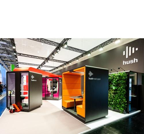 Hush Acoustic Office Units