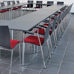 Gestoffeerde stoelen - 4-poots